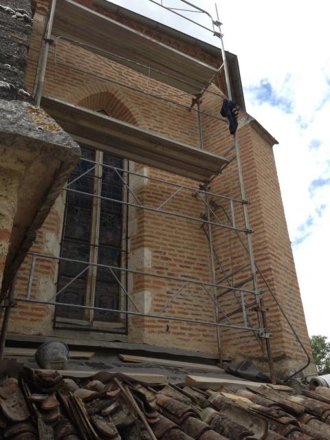 rénovation chapelle notre dame de cahuzac gimont